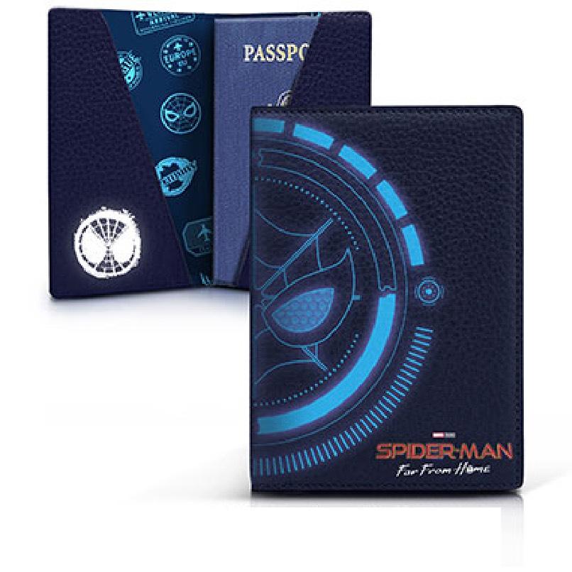 スパイダーマン パスポートカバー