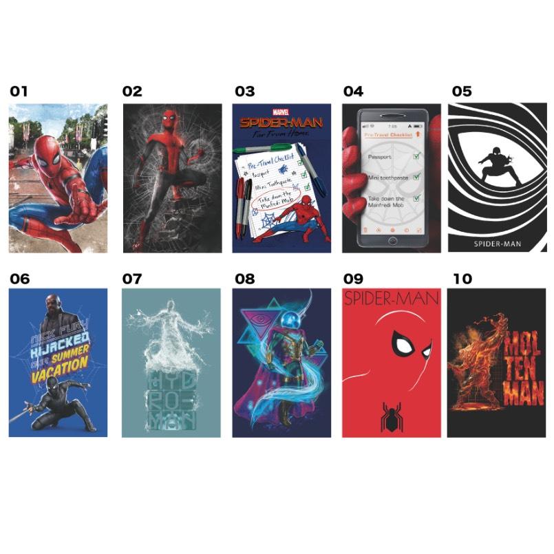 スパイダーマン 缶マグネット(ブラインド全10種)