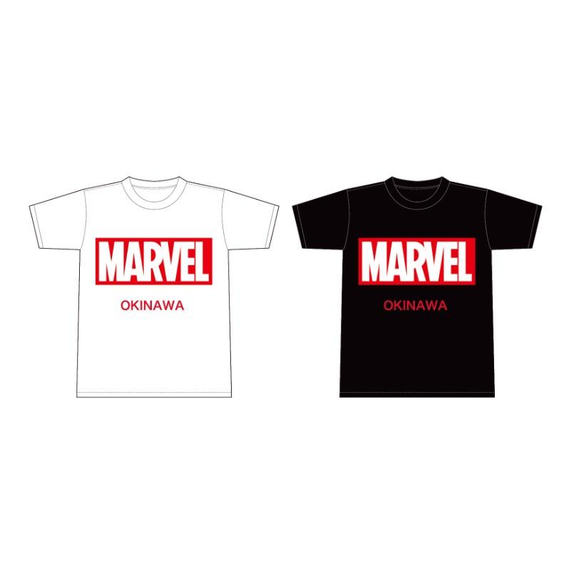 浦添パルコシティ店のみの別注 MARVELTシャツ(OKINAWA)Lサイズのみ