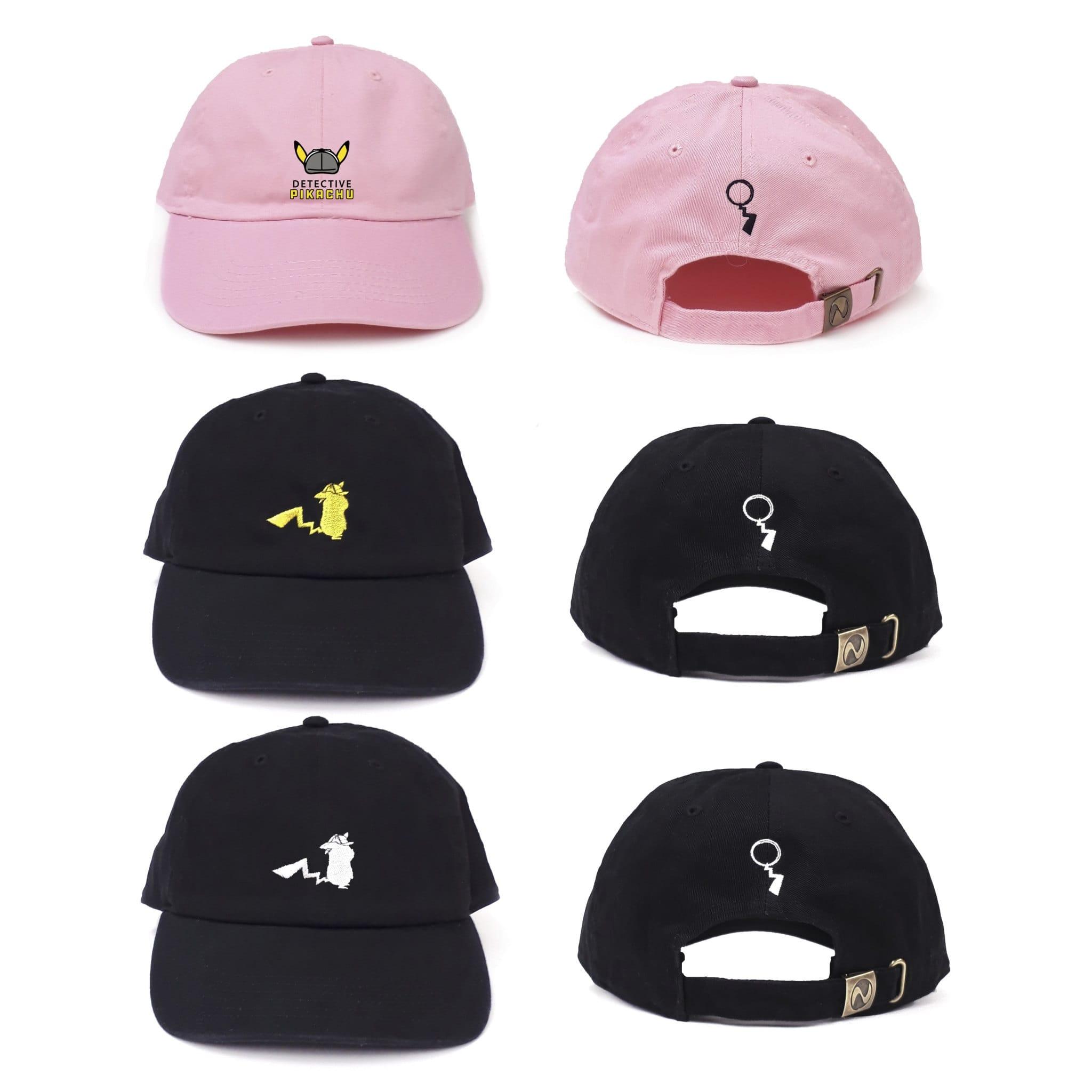 名探偵ピカチュウ帽子アイコン&ロゴ